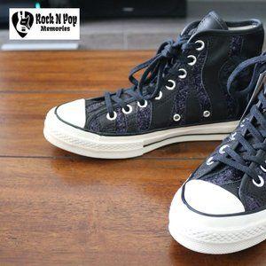 Converse Shoes Ctas Hi Spray Paint Blue White Inked Shoe  Ctas Hi Spray Paint Blue White Inked Shoe